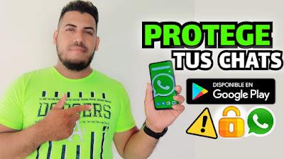 😱🔐 Protege Los Chats De WhatsApp / Evita Que la Toxica Te los Revise Y Te Descubra Truco NUEVO 2021