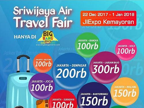 Sriwijaya Air Travel Fair 2017
