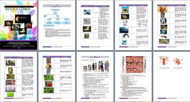 Diktat Mata Pelajaran IPA Kelas 6 SD