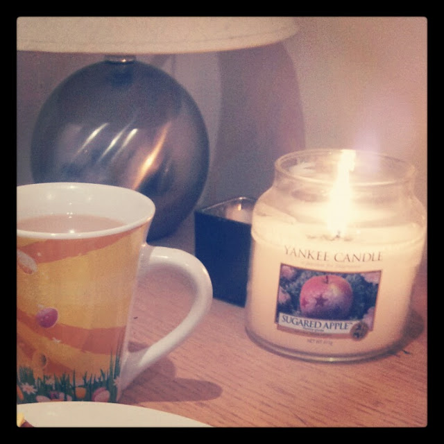 tea toast yankee candle relax