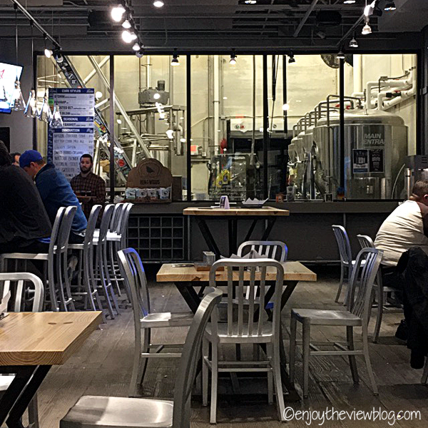 bar and brewery