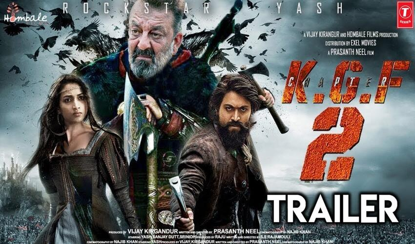 KGF 2: Official Trailer and Release Date Announced