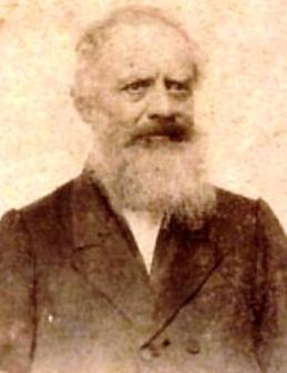 Retrato de José Rufino Echenique con barba