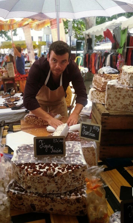 marché provençal nyons nougat