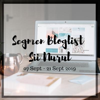 Segmen bloglist Sii Nurul