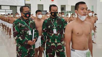 Kasdam I BB Buka Sidang Parade Penerimaan Bintara PK TNI AD TA 2021