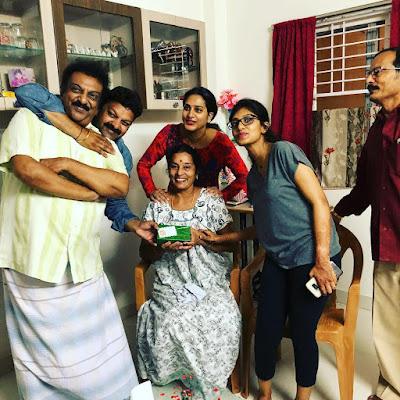Sureka Vani Family Photo