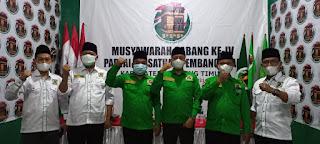 DPC PPP Lamtim Gelar Muscab Ke IV, Supriyanto : Besarnya Organisasi Kader Harus Bersatu