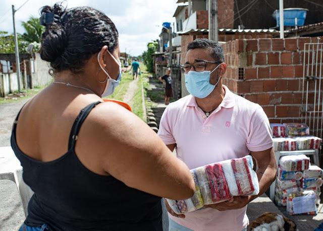 Fundação Leonel Brizola de Pernambuco arrecada donativos para famílias carentes
