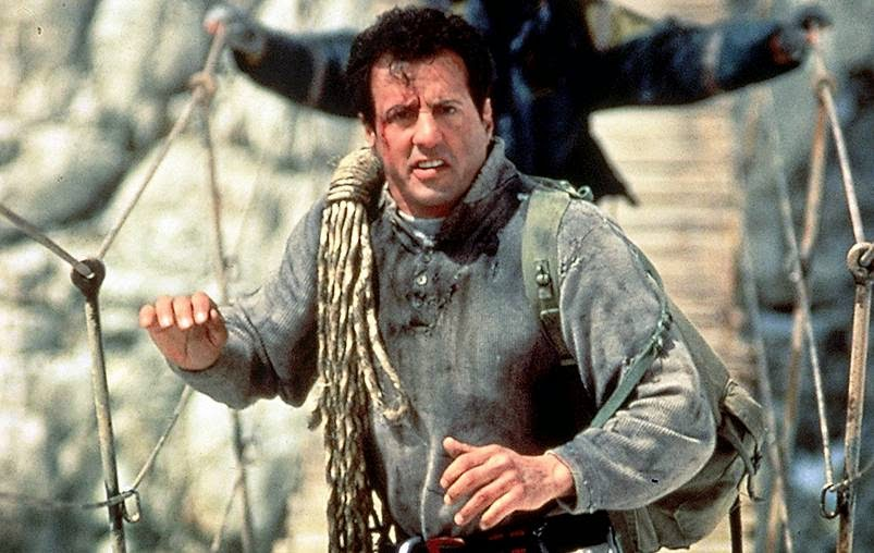 Sylvester Stallone Cliffhanger action movie 1993