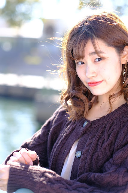 モデルはAkariさん。