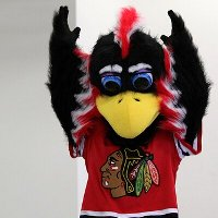 Tommy Hawk, the Chicago Blackhawks mascot