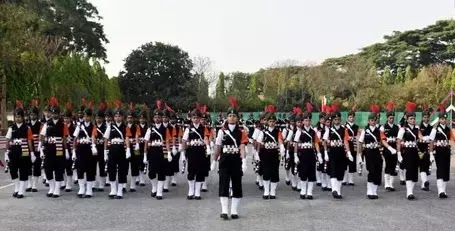Indian Army inducts first batch of women military police