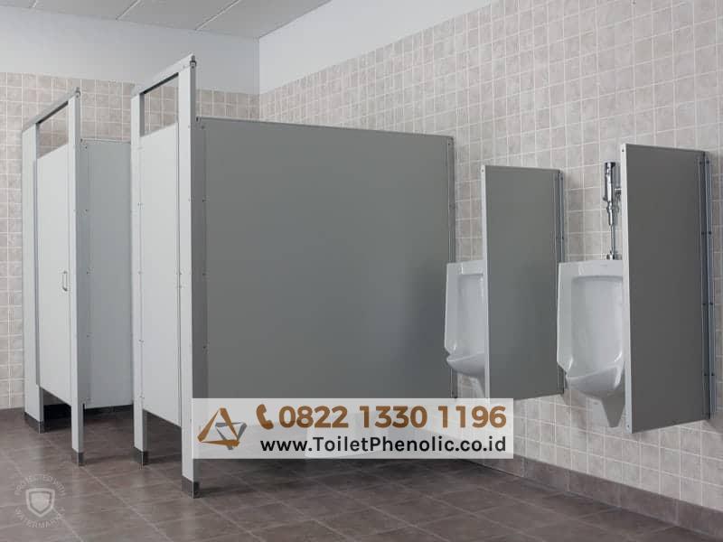 Toilet Cubicle Padang Sidempuan (Partisi Kamar Mandi Phenolic) Murah