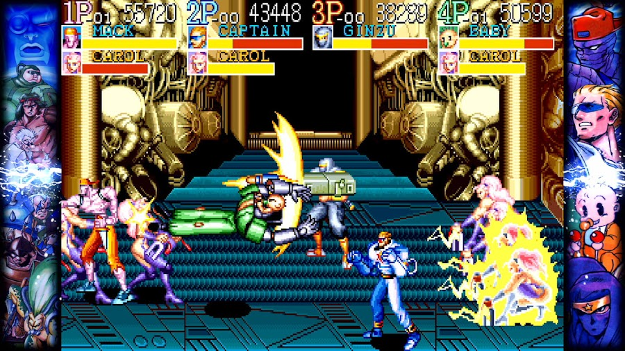 capcom beat em up games captain commando