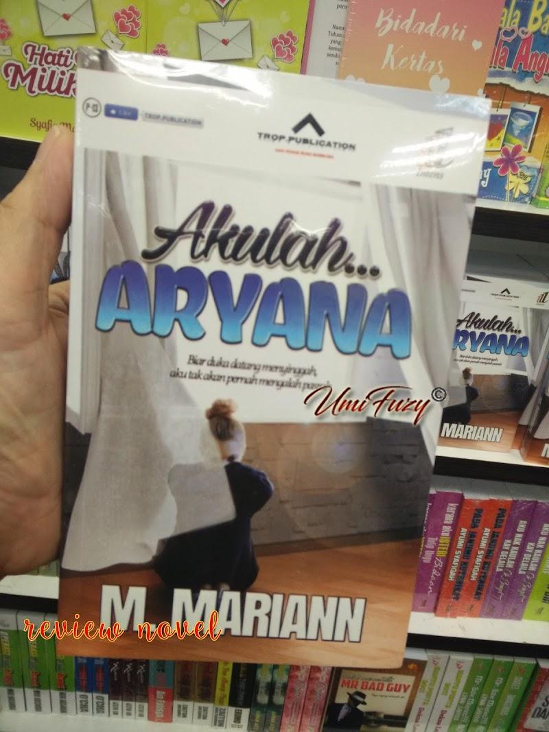 Review Novel : Akulah..Aryana Oleh M Mariann