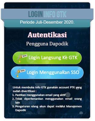 Cek SKTP Di Info GTK
