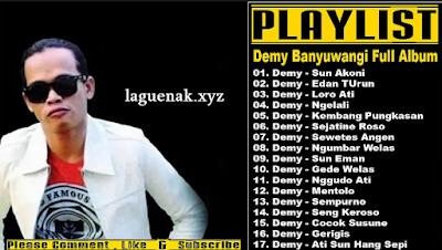 Download Lagu Banyuwangi Demy Terpopuler Mp3 Lengkap Full Album Gratis