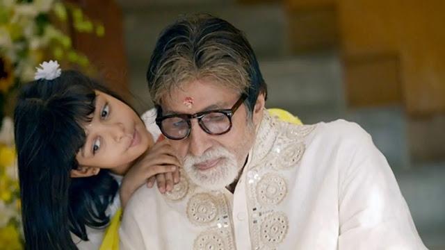 amitabh bachchan and aaradhya