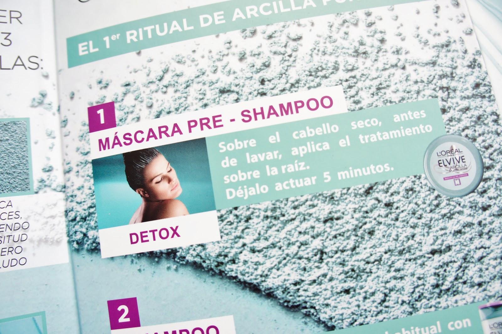 Máscara Pre Shampoo
