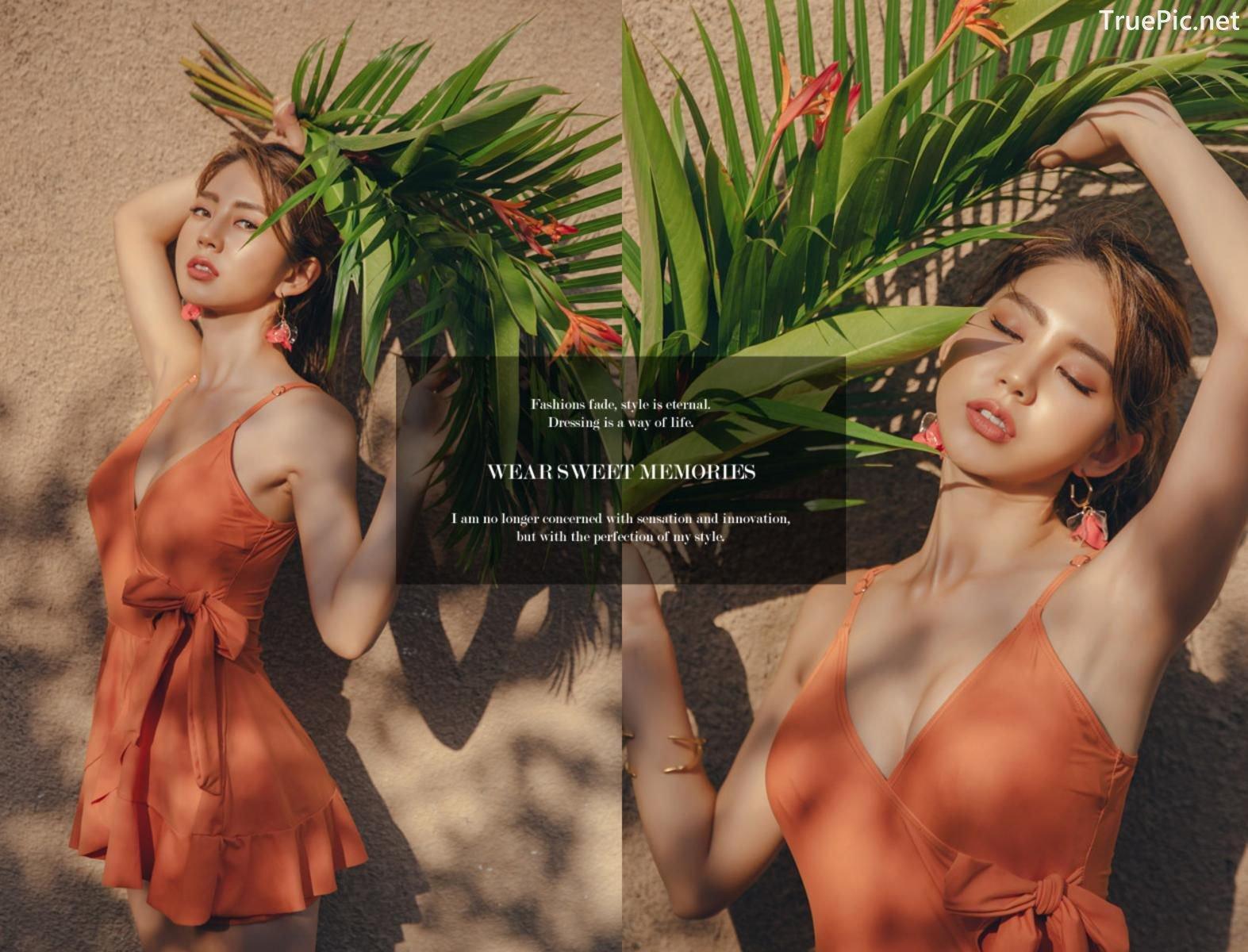 Image Korean Fashion Model - Lee Chae Eun - Sienna One Piece Swimsuit - TruePic.net - Picture-17