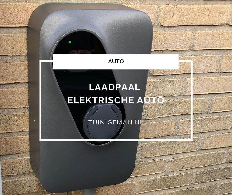 Laadpaal elektrische auto thuis