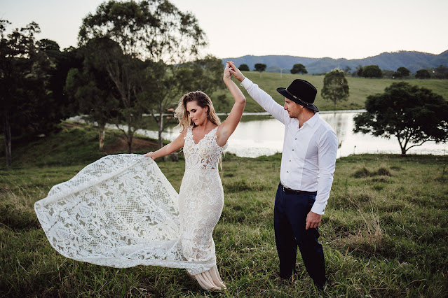images by sonny love photography weddings brisbane floral design bridal gown groom suit boho country wedding inspiration