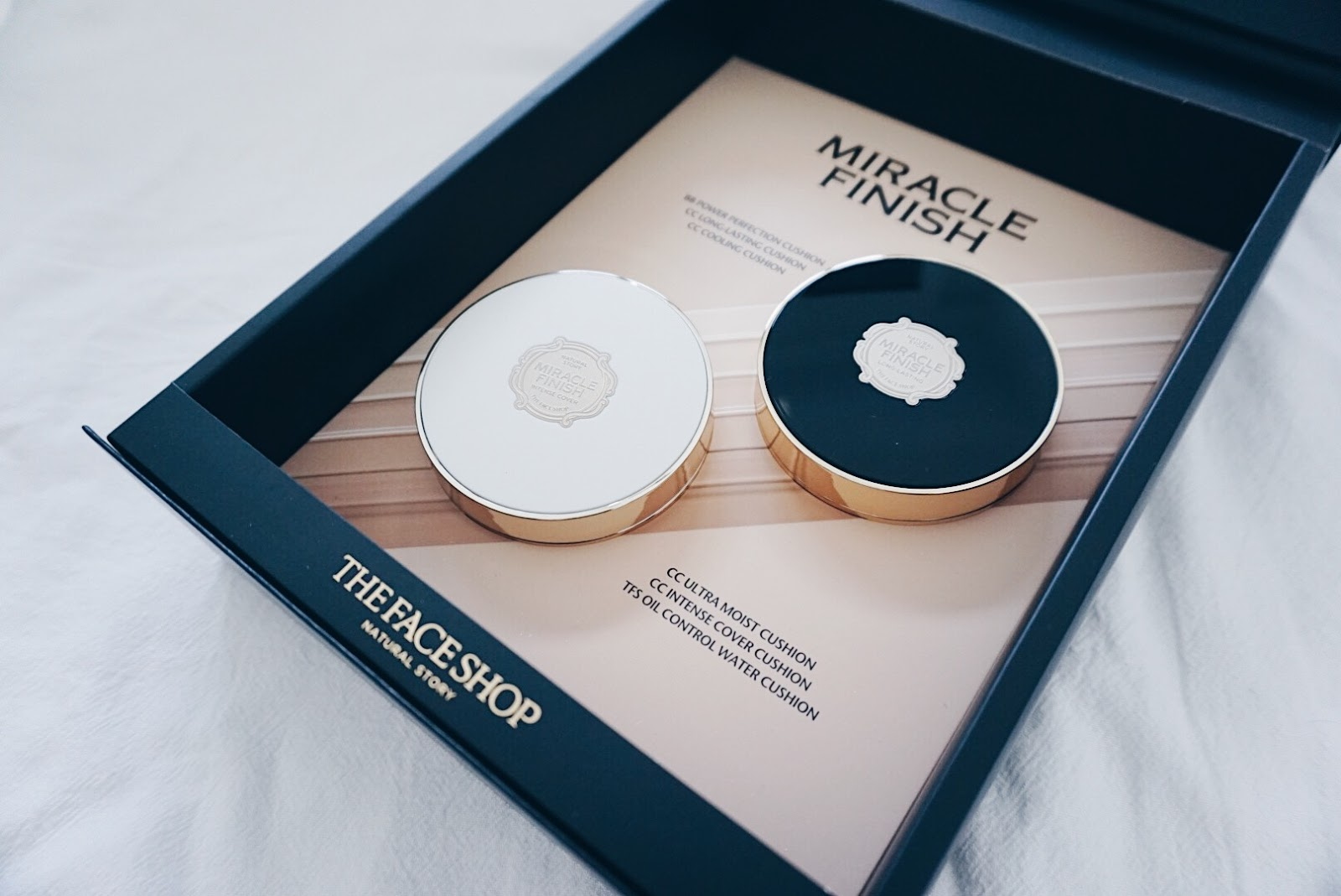 Copykate: [ADV] THE FACE SHOP Miracle Finish Cushion & Moisture ...
