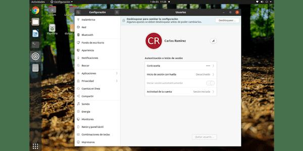 Cómo Deshabilitar el llavero de Ubuntu 20.04