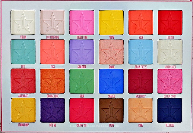 Review Jeffree Star Jawbreaker Eyeshadow Palette