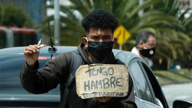 ONU alerta de letal combinación de hambre y COVID-19 en Latinoamérica