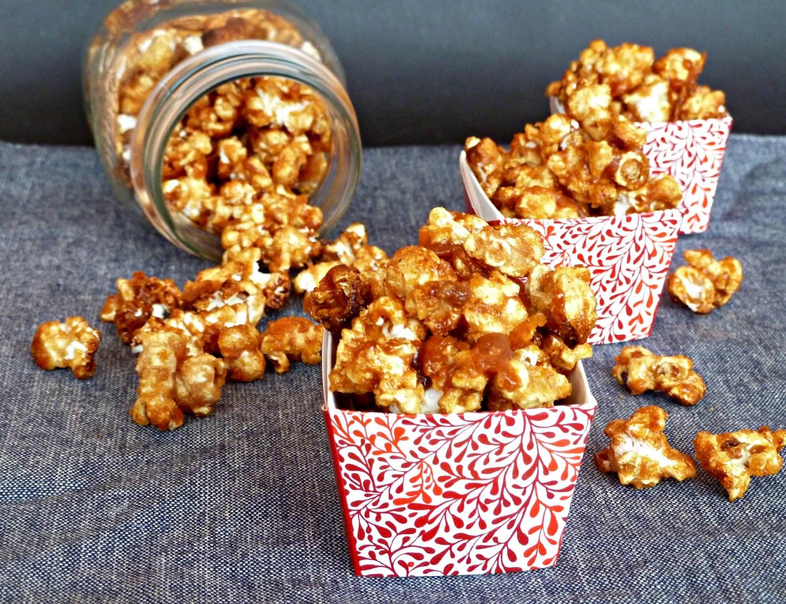 Una Fiera en mi cocina: Cinnamon popcorn (Palomitas de maíz con canela)