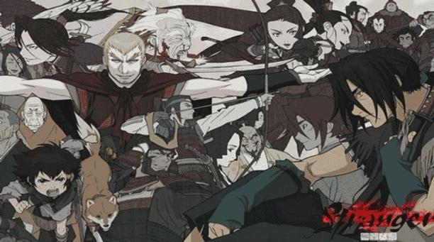 Stranger: Mukou Hadan - Daftar Anime Samurai Terbaik Sepanjang Masa