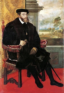 Titian's portrait of the Holy Roman Emperor, Charles V
