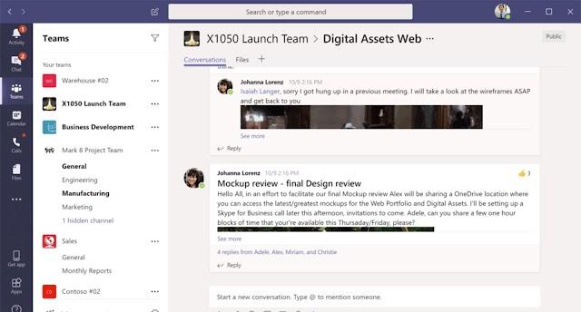 Microsoft Teams: A Multitasker Chat App