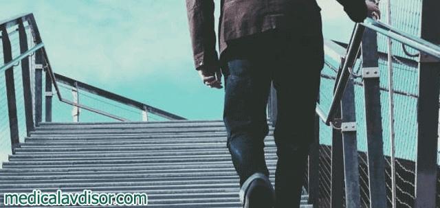 اسباب ضيق التنفس عند صعود السلالم