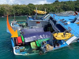 Mengapa Evakuasi Truck Dari Kapal Dharma Rucitra III Begitu Lama? Begini Tahapan Dan Proses Evakuasinya