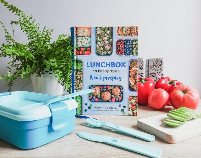 Książka Lunchbox na każdy dzień. Nowe przepisy. | Książka Malwiny Bareła, autorki bloga kulinarnego Filozofia Smaku | Wydawnictwo Znak