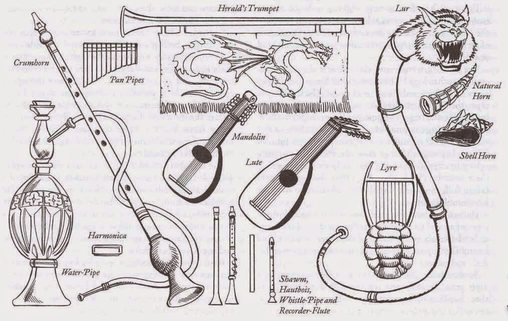 Critical Fumble: An armory of musical instruments