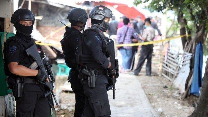 Densus 88 Tangkap Seorang Pria Terduga Teroris di Palembang