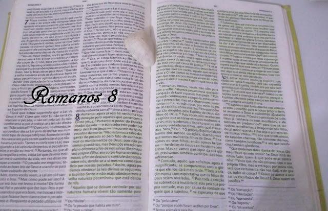 Palavra da semana Romanos 8 - Biblia