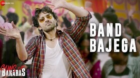 Band Bajega Lyrics in Hindi, Shahid Mallaya, Guns Of Banaras