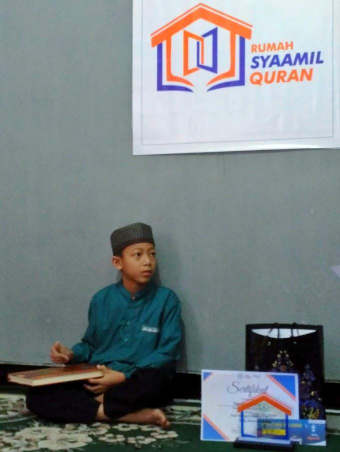 Mengenal Hafidz Qur'an Cilik dari Rumah Syaamil Qur'an Sleman