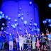 Semasc ganha iluminação azul em alusão ao Dia Mundial da Conscientização do Autismo
