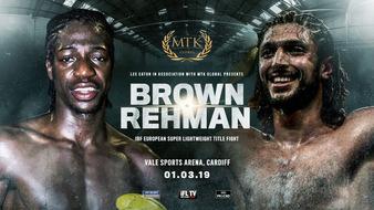 Akeem Ennis Brown vs. Bilal Rehman Fight