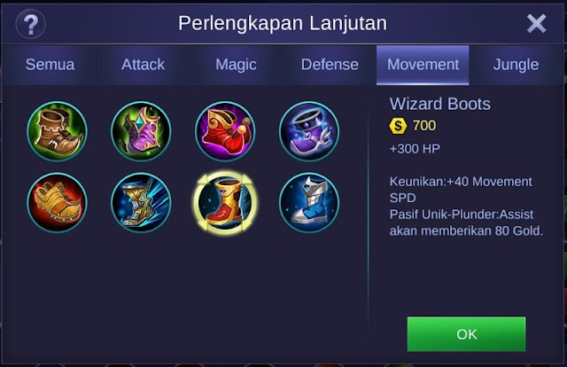 Wizard Boots Mobile Legends