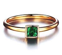 cincin tunangan emas tiara diaopside