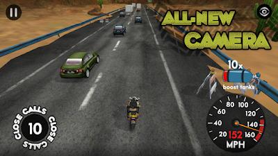 Download Highway Rider Apk Mod v1.9.1 (Unlimited Boosts)