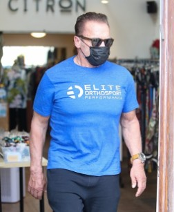 Arnold Schwarzenegger spotted shopping at women's clothing store Citron in Santa Monica - News