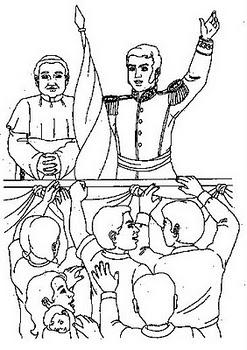 LAMINAS COLEGIALES PARA IMPRIMIR Y RECORTAR: General Don